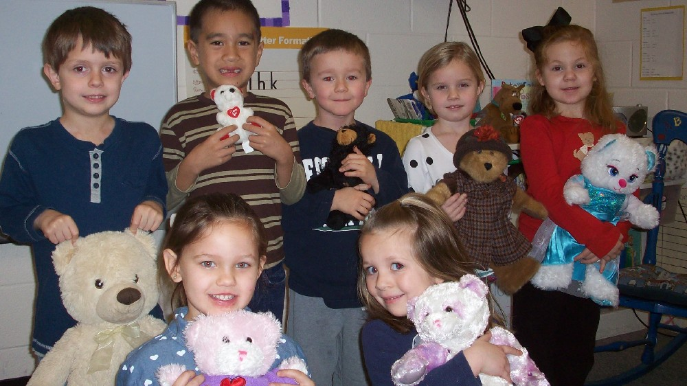Teddy bear day and the 100th day of school 001