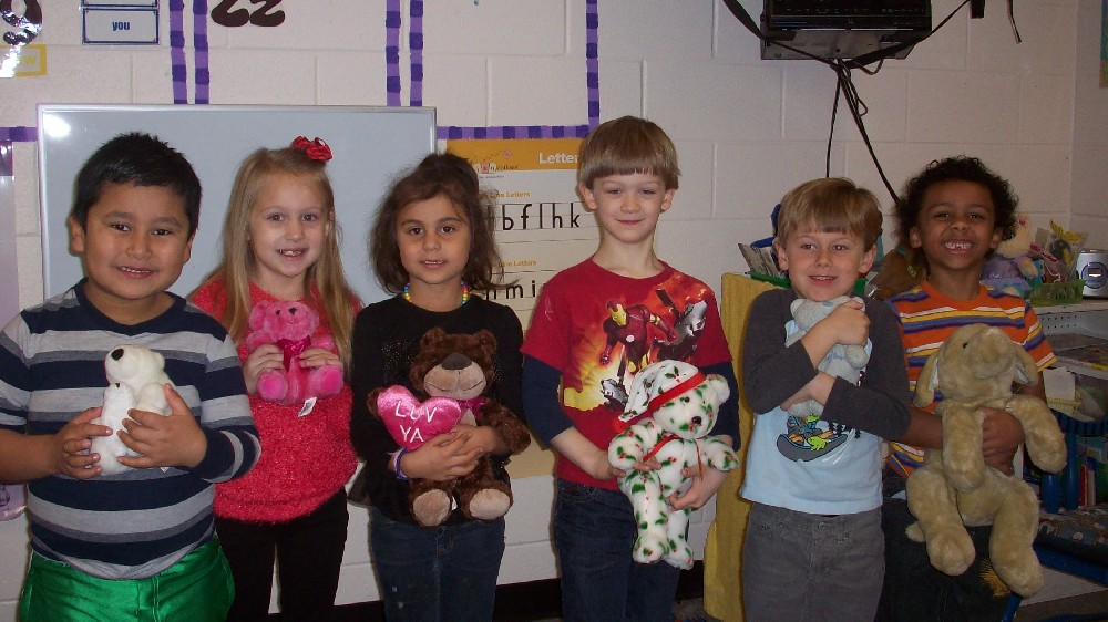 Teddy bear day and the 100th day of school 002