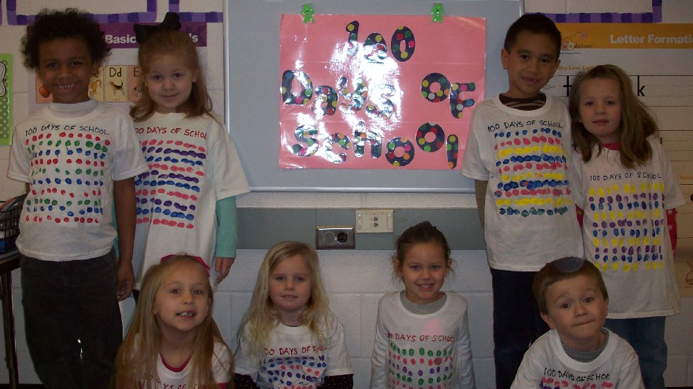 Teddy bear day and the 100th day of school 023