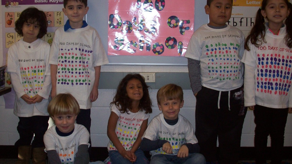 Teddy bear day and the 100th day of school 025