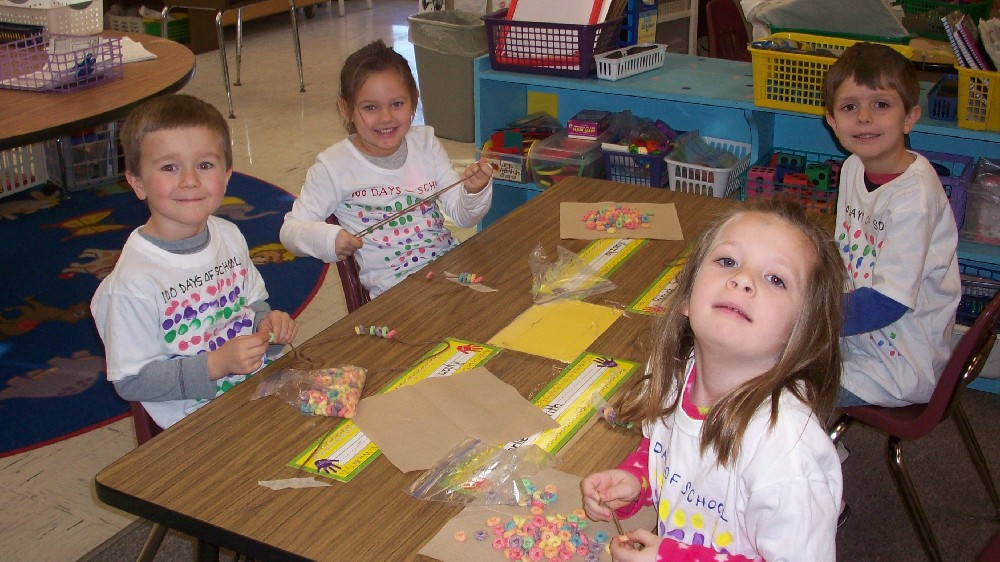 Teddy bear day and the 100th day of school 028